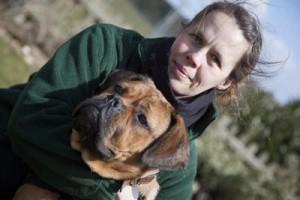 Tracy Challis canine massage