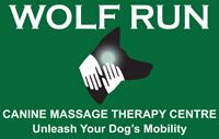 Wolf Run Canine Massage logo