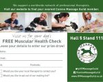 muscular health check voucher crufts
